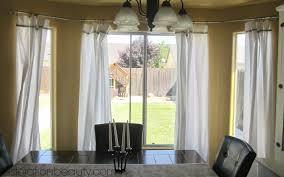 the diy bay window curtain rod brackets