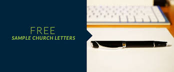 Sample Church Fundraising And Communication Letters Free