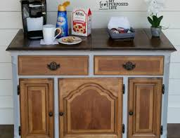 coffee bar furniture home. Home Coffee Bar Furniture How To Create A Station At DIY With Vintage Dresser Design 7