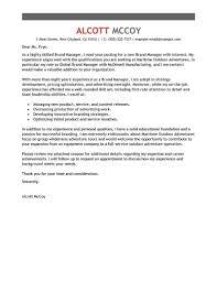 Cover Letter Samples For Director Of Marketing