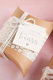 diy idea wedding handkerchief happy tears gift s