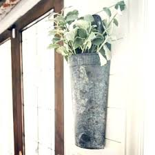 galvanized wall decor galvanized wall galvanized wall vase galvanized hanging bucket galvanized metal wall vase galvanized circle wall decor galvanized wall
