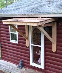 how to build a front doorDoor Overhang   Front Door Awning Ideas Pictures Overhang Pics