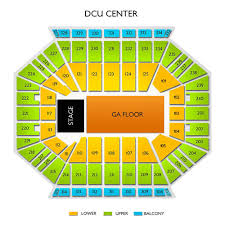 Dcu Center Seating Chart With Rows Godsmack Worcester Tickets 4 25 2020 L Vivid Seats