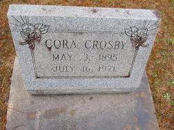 Cora Louise Hiers Crosby (1895-1971) - Find A Grave Memorial