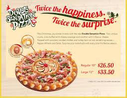 pizza hut menu 2013. Unique Pizza DoubleSensation Inside Pizza Hut Menu 2013 T