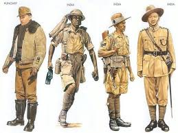 Image result for free pic of Indian Gurkhas in world war II