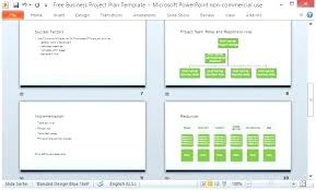 It Project Plan Template Impressive Microsoft Powerpoint Project Plan Template Schedule Resource For