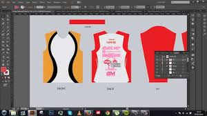 How To Make Sublimation Jersey Design Long Sleeved Jersey Ai Tutorial Template Included Youtube