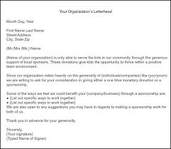 Format For Sponsorship Letter Interesting How To Get Team Sponsorships Hockey Pinterest Fundraising