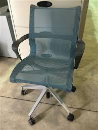 setu office chair. Herman Miller Setu Office Chair - Blue