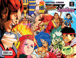 streetfighter vs darkstalkers 01 exclusive by thechamba on deviantart