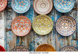 moroccan plate wall art