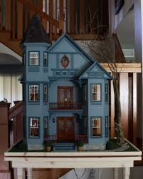 dollhouse lighting. A\u0026R Miniatures Built This Real Good Toys Painted Lady Doll House For Cathy M And Then Added Lighting Effects, Lightning Thunder, Other Sound Effects Dollhouse L