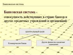 Презентация по экономике на тему Банки и банковская система  слайда 14 Банковская система совокупность действующих в стране банков и других кредит