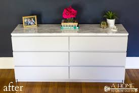 laminate furniture makeover. An Easy Ikea Hack To Update Your Malm Dresser! Great Tips On Painting Laminate Furniture Makeover