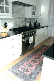kitchen rug runner washable for home design great l shaped rug runner innovative corner kitchen the