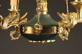 antique french empire style chandelier pertaining to decorations 12
