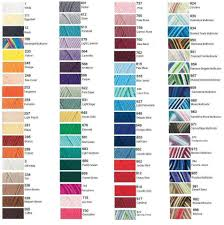 Look Of Love Color Chart Colour Chart
