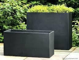 black square planter box tall black planters planters inspiring outdoor planter box outdoor planter box extra black square planter box square
