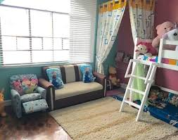 most adorable curtained reading nook