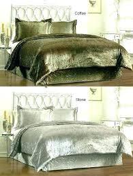 royal velvet comforters crushed bedding sets comforter 6 crush set sears clas