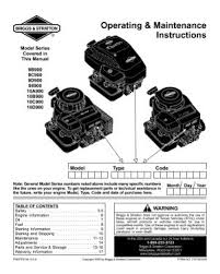 9d900 briggs and stratton engine manual manual location