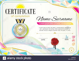 Official Certificate Of Appreciation Award Template With