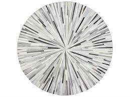 bashian rugs santa fe round grey area rug bshh112gyh19rou