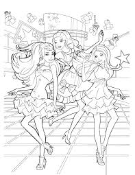 Barbie Colouring Book Pictures Coloring Pages Games Barbie Coloring