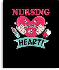 Funny Nursing Quotes Awesome Nursing Is A Work Of Heart Nurse Shirts Funny Nurse Appreciation