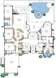 luxury home floor plans free