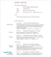 Latex Resume Templates Stunning Latex Resume Template Medium Length Professional Cv Resume Template