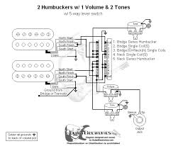 humbucker wiring diagram humbucker wire color codes pickup basic guitar wiring diagram 2 humbuckers lever switch one volume and two tone controls custom switching