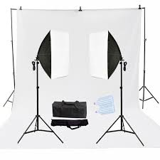 photography studio softbox 80w led continuous lighting kits photo background support system kits 3m