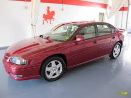 2005 Sport Red Metallic Chevrolet Impala SS Supercharged #36962813 ...