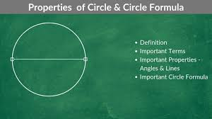 what is a circle and its properties
