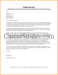 11 Teaching Cover Letter Template Foot Volley Mania