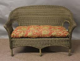 Summerset All Weather Outdoor Wicker Loveseat All About Wicker