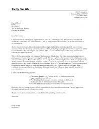 Career Change Cover Letter Example The Letter Sample Career Within