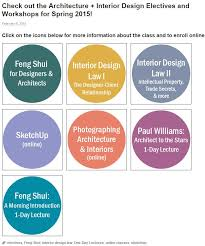 Are you interested in Feng Shui or Interior Design Law? At UCLA Extension  Arc+ID you can take electives and 1-day lectures that focus solely on the