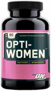 optimum nutrition opti women 60 capsules