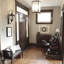 Small Picture dark walnut trim gray walls Dark Wood Trim and grey walls