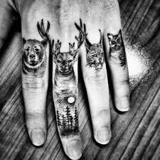 татуировки на пальцах Ttatturu