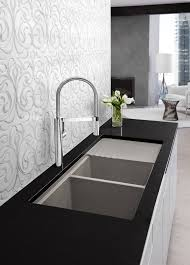 Swan Granite Kitchen Sink Kitchen Sinks Standard Kitchen Sink Faucet Hole Size How To Cut A