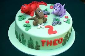 Dinosaur Birthday Cake Vanilla Frost Cakes