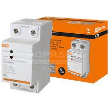 <b>Реле напряжения</b> однофазное <b>TDM Electric</b> АЗМ-25А SQ1504 ...