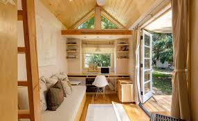 living in a tiny house on wheels interior design and comfortable in oregon  cottage, nice