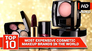 top 10 most expensive cosmetic makeup brands in the world