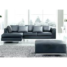 black leather l shaped couch leather l shaped sofa cream tufted bonded sectional true contemporary black